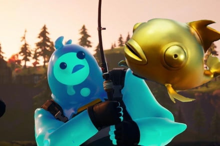 Photo of Fortnite players spot a rare golden fish that kills enemies in a single hit