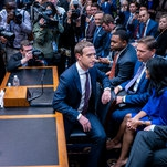 Facebook's Zuckerberg, Accused of Lying, Withstands a Washington 'Beating'