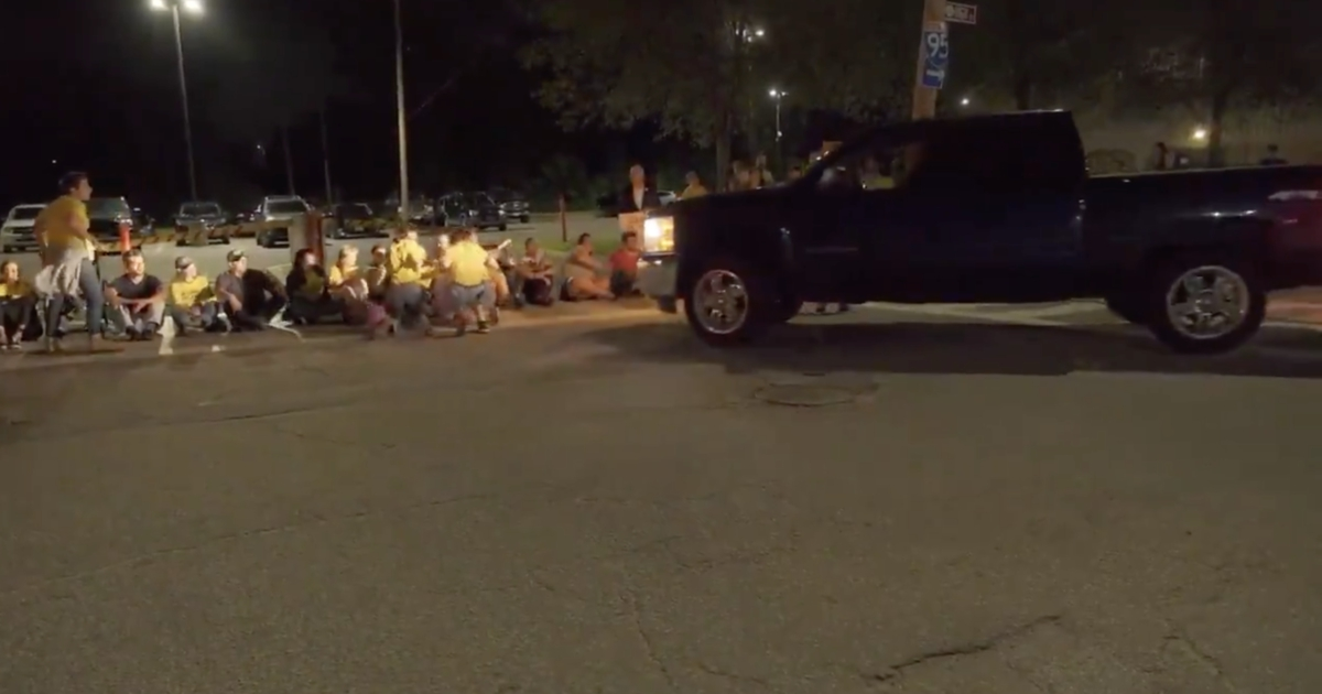 Photo of No charges for corrections officer who drove into protesters