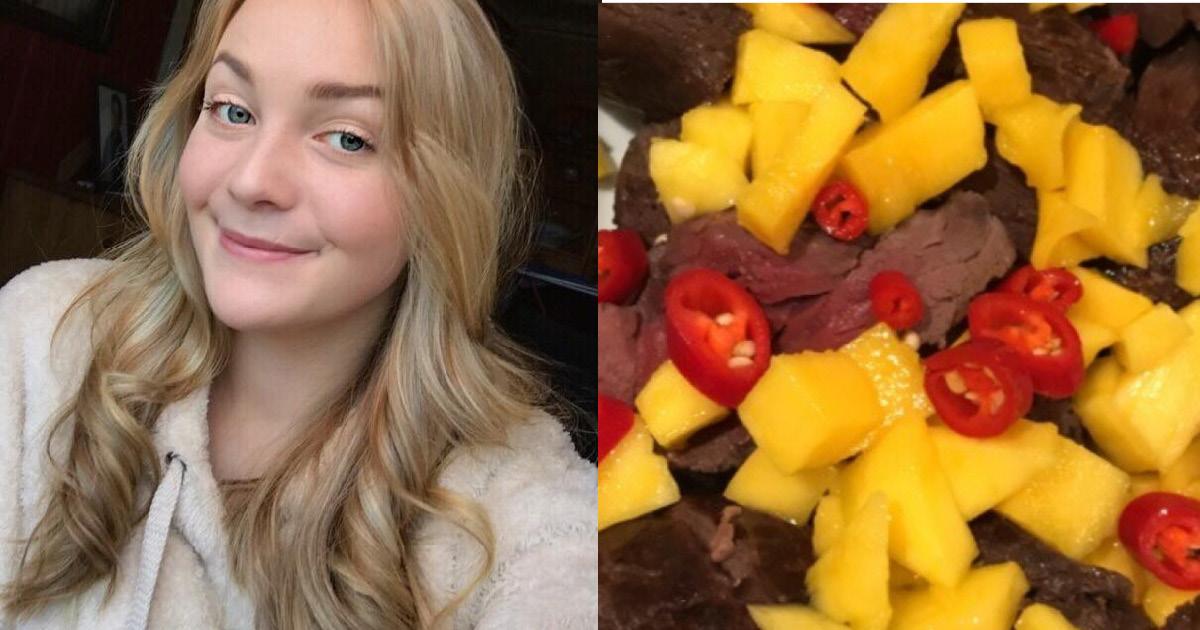 Юную норвежку раскритиковали в Сети за то, что она съела своего коня