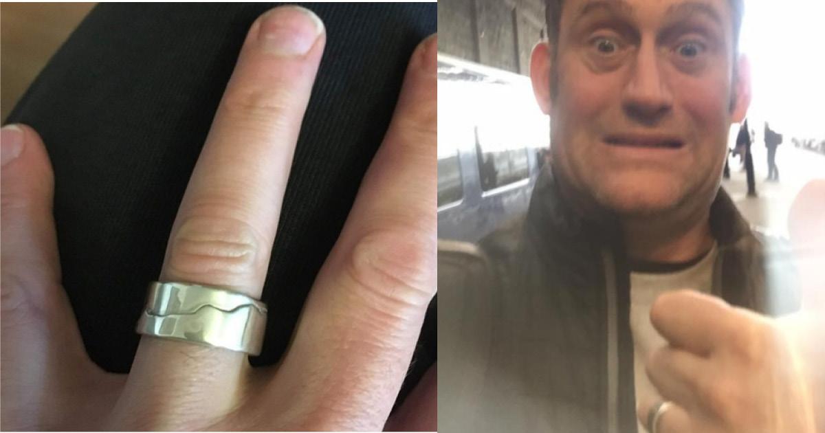 Фото Маленькая рыбка и незнакомый человек вернули мужчине драгоценное кольцо
