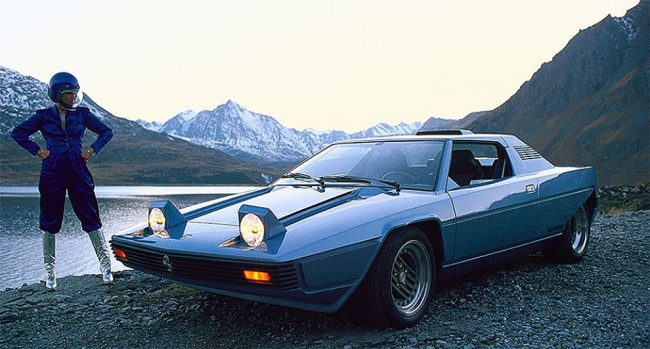 Photo of Car Concepts From The Future Past: 1976 Ferrari Rainbow