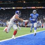 Daniel Jones's Career Highs Can't Help Giants Finish Off the Lions