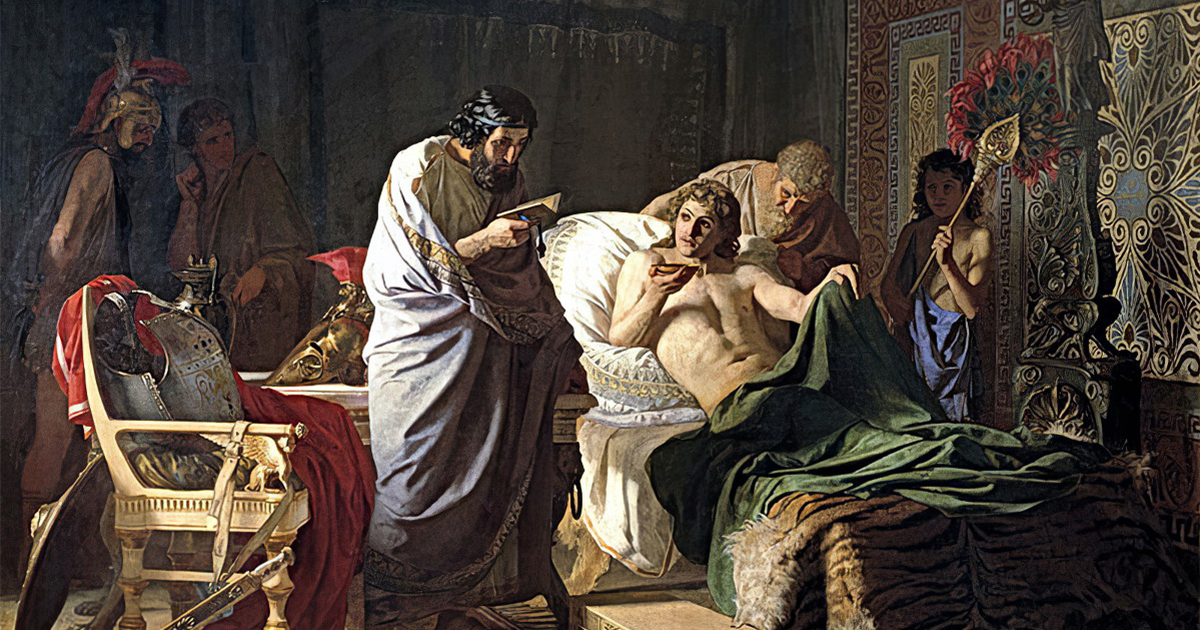 Найдена причина ухода из жизни Александра Македонского