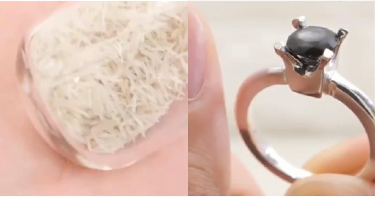 Дешево и сердито: мужчина сделал кольцо из своих ногтей
