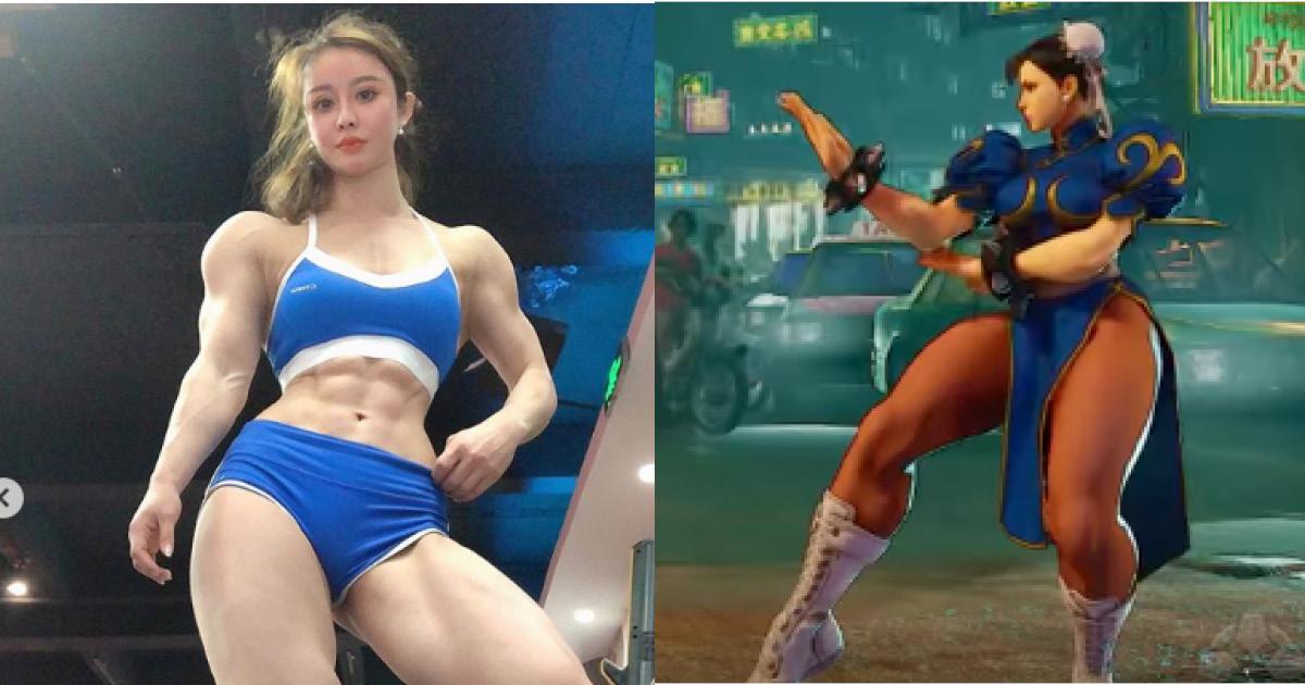 Доктора из Китая сравнили с героиней игры из-за невероятного тела