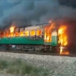 Pakistan Train Catches Fire, Killing More Than 70