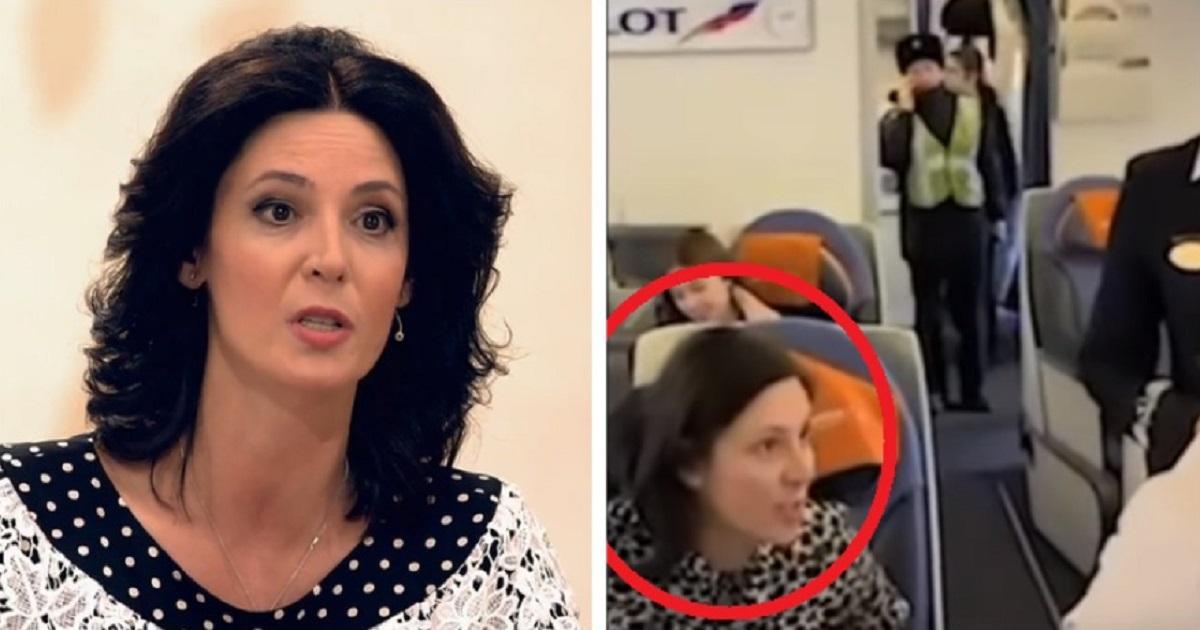 «Я в неадеквате». Актриса Вележева оправдалась за скандал в самолете
