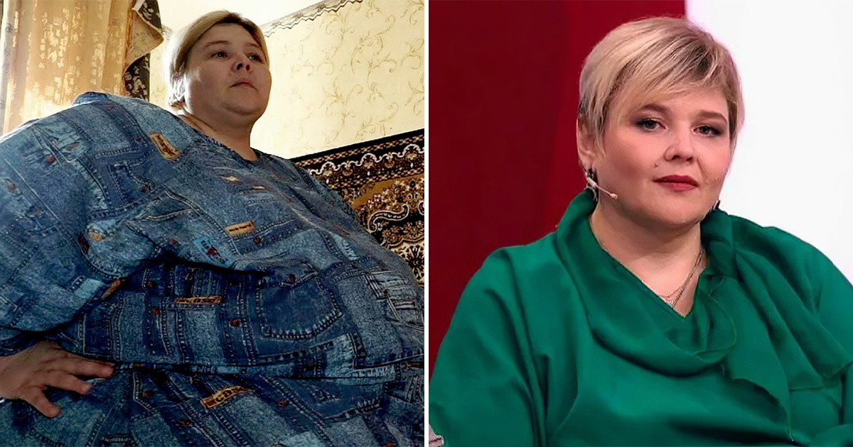 Россиянка, весившая несколько центнеров, похудела и вышла замуж