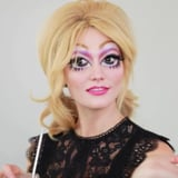 Karlie Kloss Embraced Her Inner Bratz Doll With This Creepy Halloween Makeup Tutorial