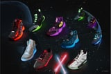 Calling All Jedis, Star Wars x Adidas New Sneaker Collection Glows Under UV Light