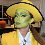 Gigi Hadid Went as The Mask For Halloween, and Her Butt-Length Ponytail Was Everything