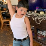 An 8-Year-Old Boy Dressed Up as Freddie Mercury For Halloween, and He Is the Champion