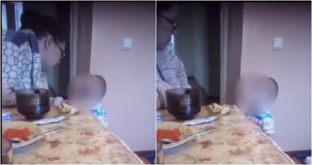 Женщина наказала ребенка из-за его жалоб на голод