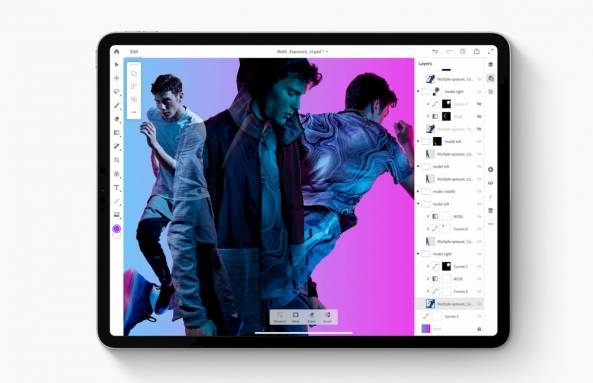Photo of Photoshop for iPad needs a Creative Cloud subscription: Details