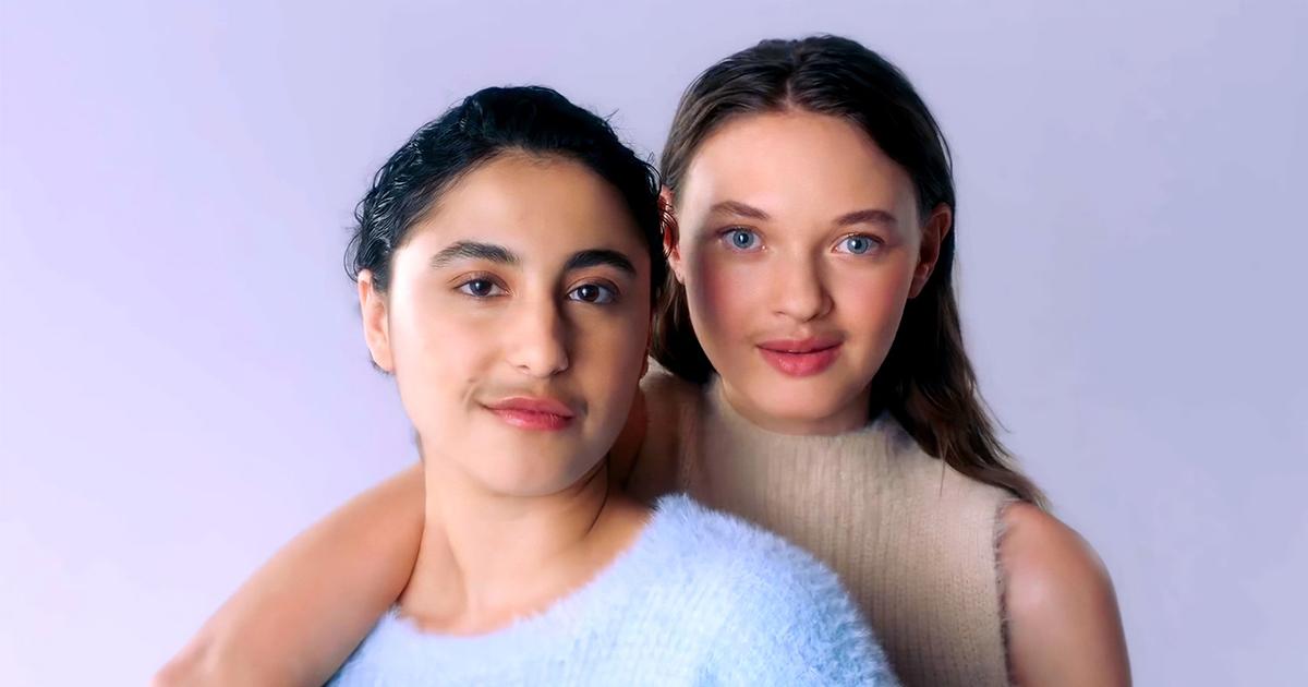 Реклама средства для бритья показала девушек с усами на лицах