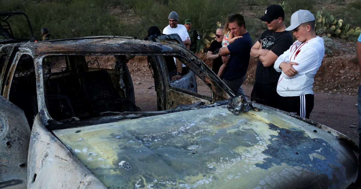 Фото Pасстрел семьи мормонов в Мексике: мальчик спас шестерых братьев и сестер