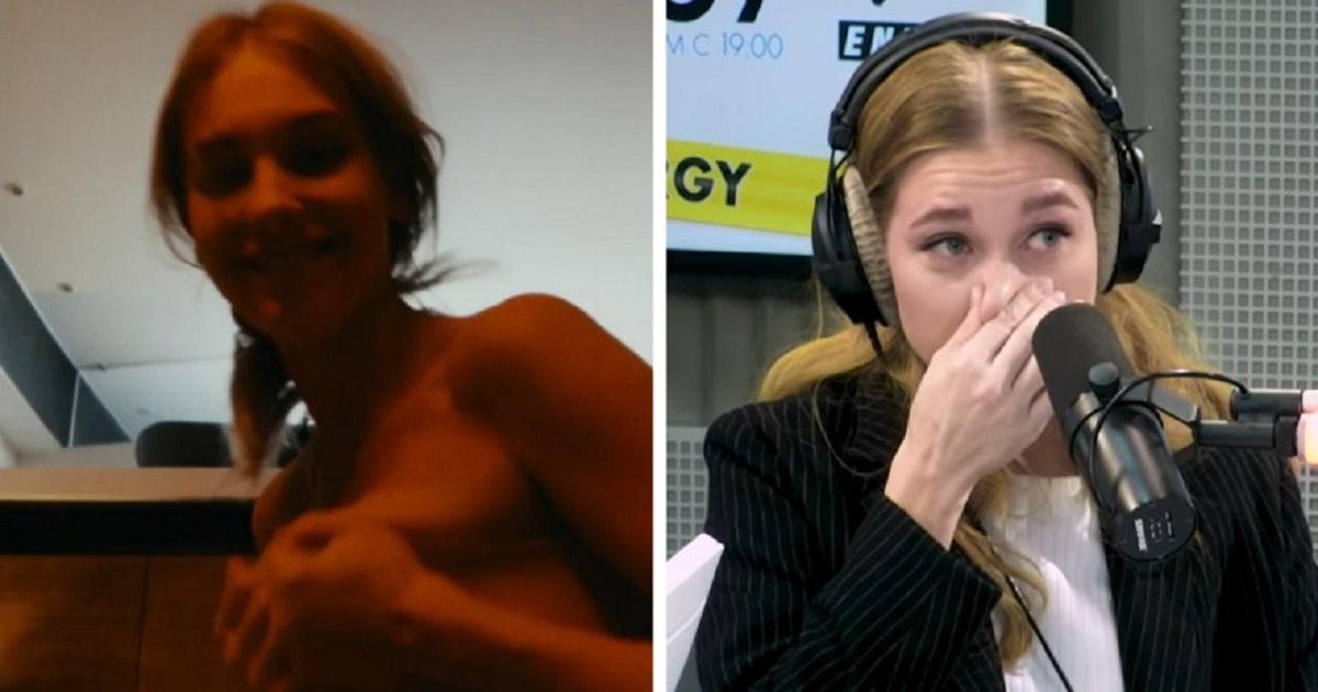 Фото Асмус расплакалась в эфире, говоря о постельной сцене и реакции Харламова