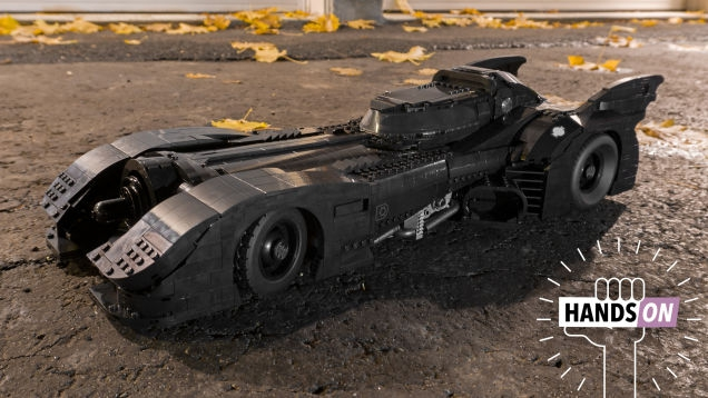 Photo of The New 3,300-Piece Tim Burton Batmobile Might Be the Best Lego Model I've Ever Built