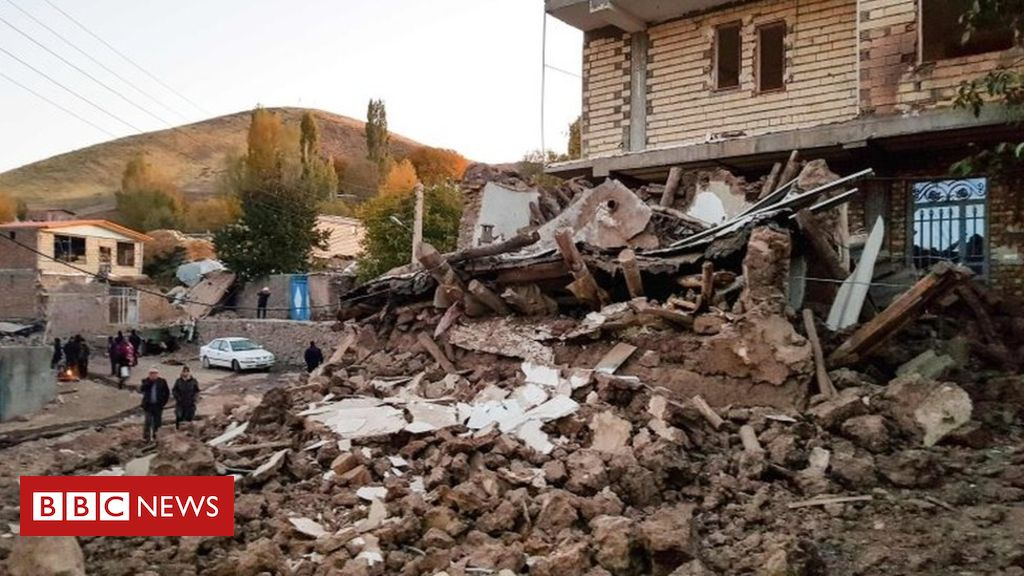 Photo of Iran earthquake: Five killed and hundreds injured