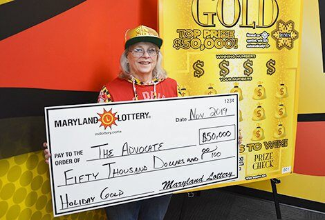 Photo of Maryland woman wins second $50G lottery jackpot in 2 months