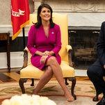 Nikki Haley Describes Rebuffing Internal Scheme Against Trump