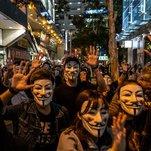Hong Kong Police Shoot Protester Amid Clashes