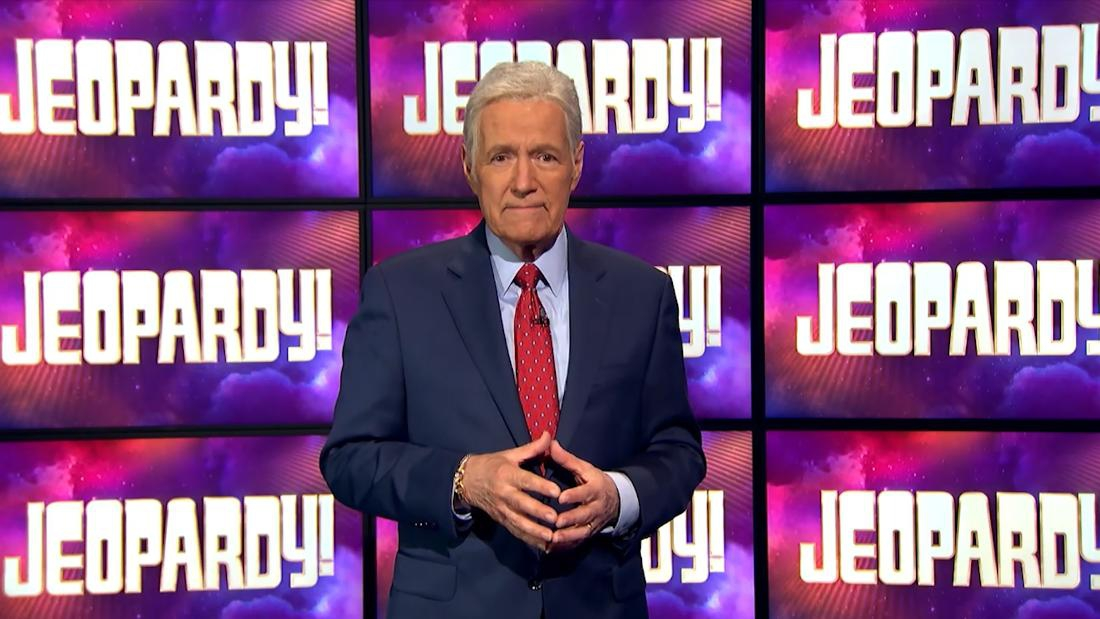 Photo of Alex Trebek chokes up on 'Jeopardy!'