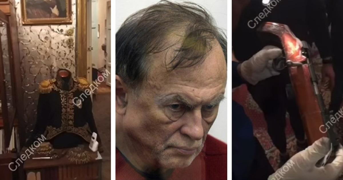 СК опубликовал видео обыска у историка Соколова