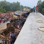 Trains Collide in Bangladesh, Killing at Least 16