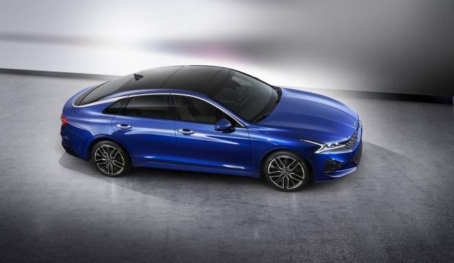 Photo of 2021 Kia Optima previewed by this striking K5 sports sedan