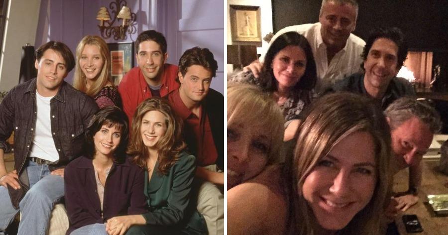 """Фото 25 лет спустя. Создатели сериала """"Друзья"""" планируют снять новый эпизод"""