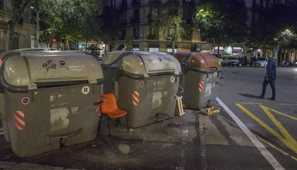 Photo of El Eixample repone sus contenedores tras un mes de la revuelta