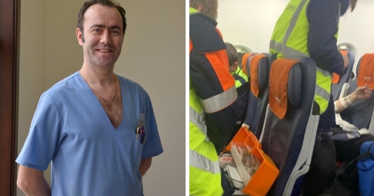 Врач спас жизнь пассажиру самолета «Тюмень – Москва»