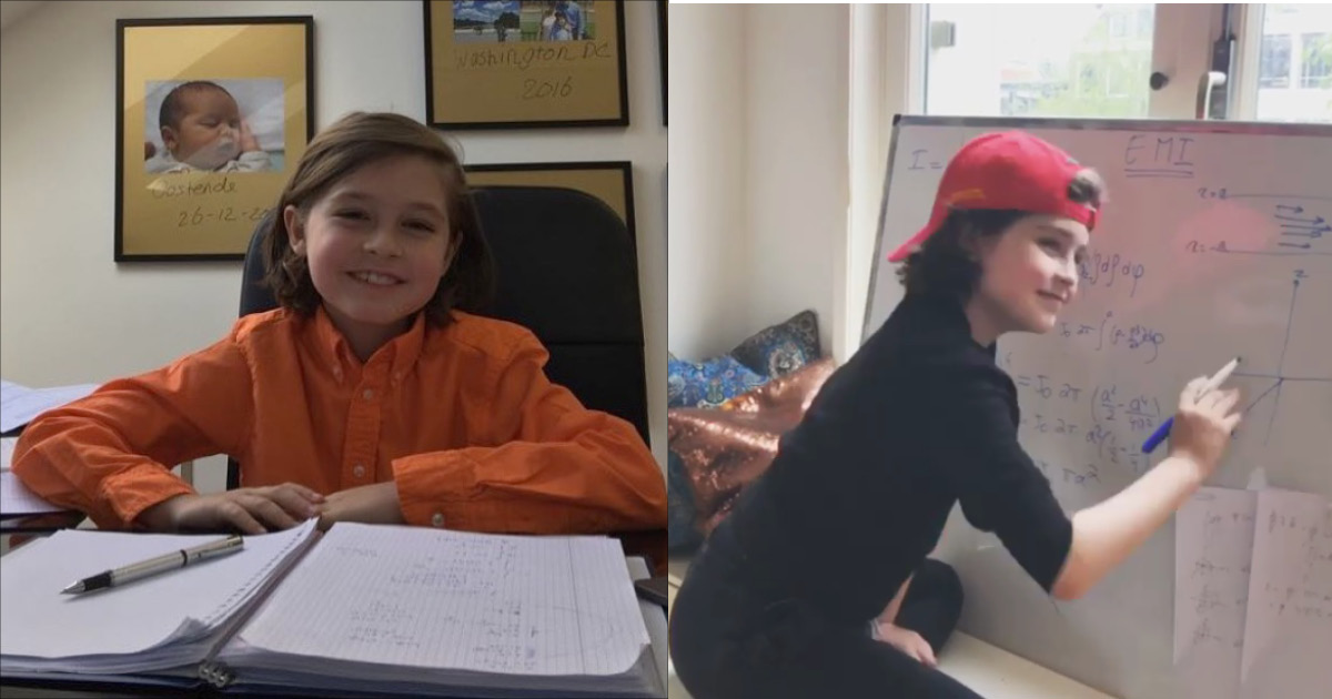 Фото 9-летний вундеркинд станет самым молодым обладателем диплома университета