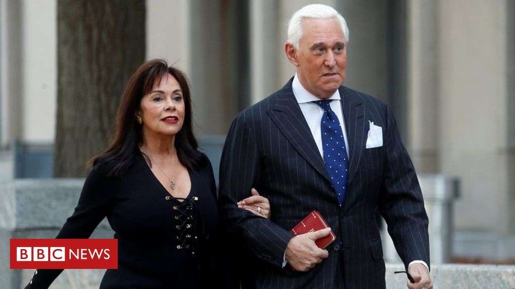Photo of Roger Stone: Trump ally convicted of lying to Congress