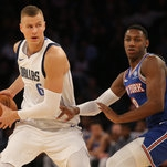 Kristaps Porzingis Can Breathe for the First Time