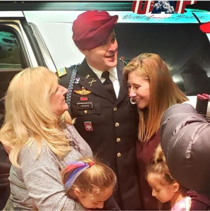 Photo of Army 1st Lt. Clint Lorance released from Leavenworth prison after Trump grants clemency