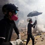Hong Kong Violence Escalates as Police and Protesters Clash at University