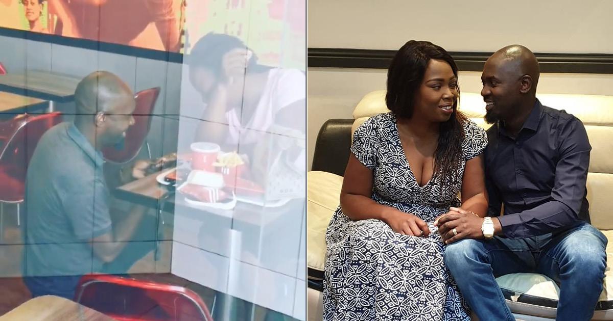 Фото Пару высмеяли за предложение руки и сердца в KFC. Но бренды поддержали их