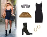 I Want to Be Wearing That: Sofia Richie's Sexy LBD and Bottega Veneta Pouch