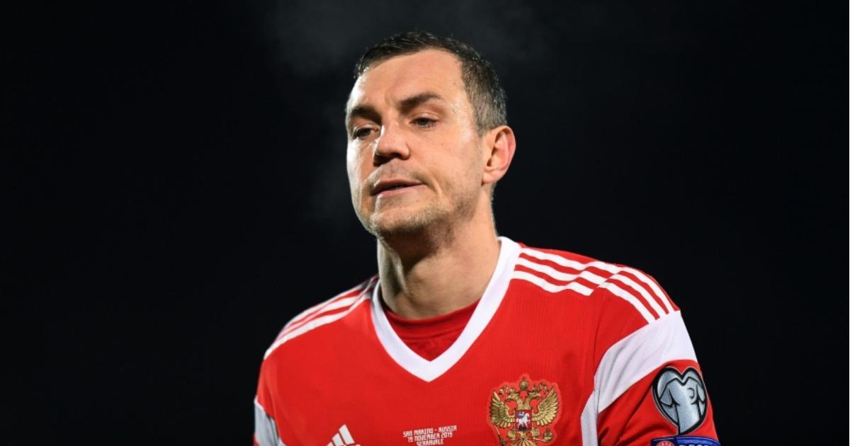 Фанаты обложили Дзюбу матом на матче, где Россия обыграла Сан-Марино 5:0