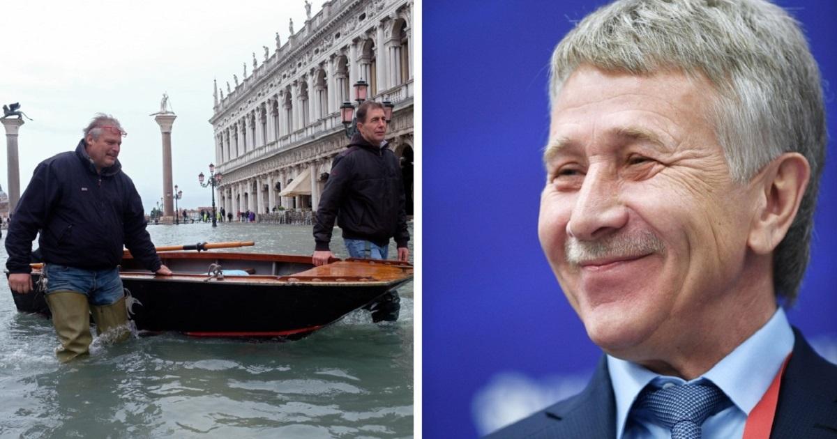 Фото Богатейший россиянин Михельсон дал денег на восстановление Венеции