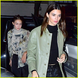 Photo of Kendall Jenner, Gigi Hadid & Joan Smalls Have Dinner Together in NYC