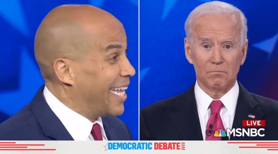 Photo of Booker slams Biden on reluctance to legalize weed, says it is 'already legal for privileged people'