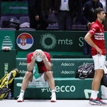 Davis Cup Sees Its Old Soul in the Tears of a Vanquished Serbian Team