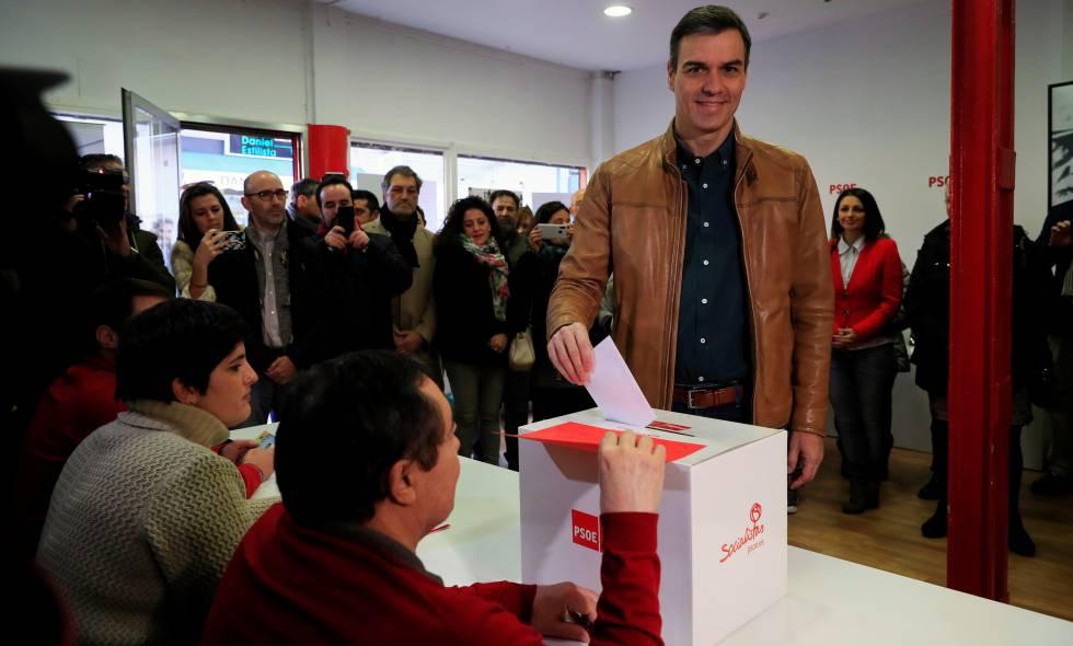 """Photo of Las bases socialistas deciden hoy si aprueban el pacto con Podemos para un Gobierno """"progresista de coalición"""""""