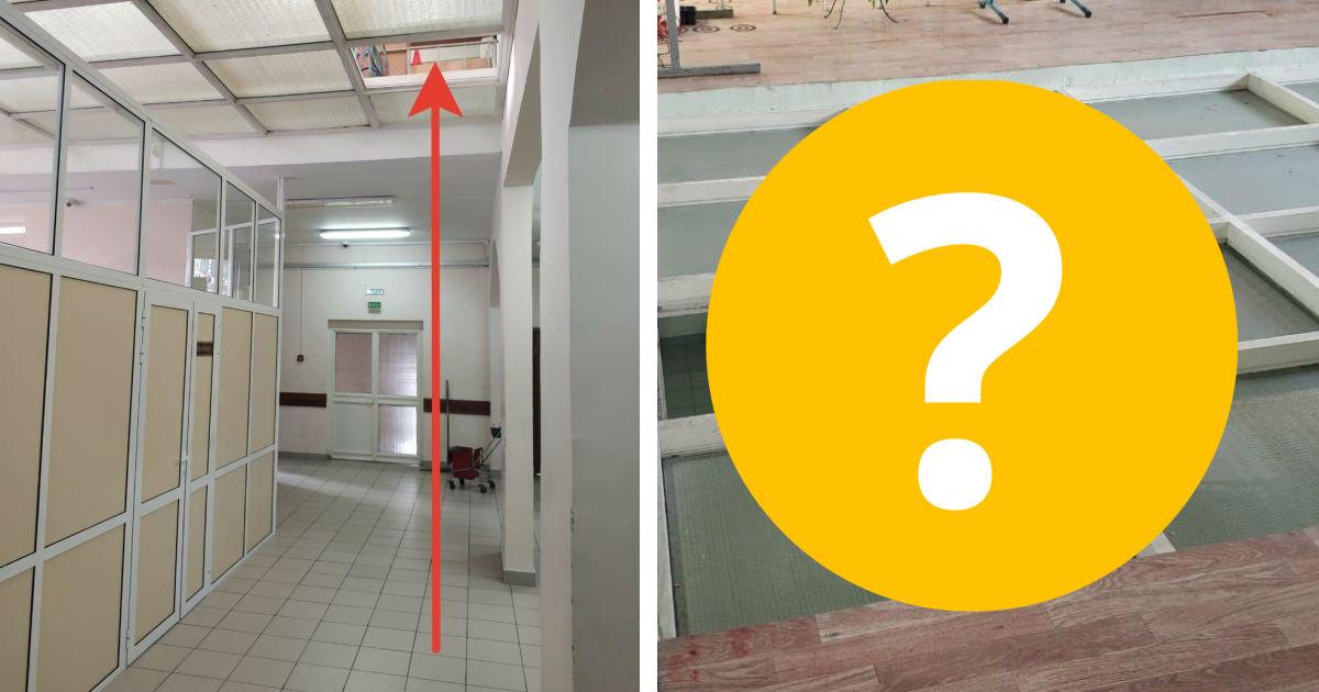 10-летняя африканка провалилась сквозь стеклянный пол в московской школе