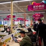 Alibaba Raises Billions of Dollars in Hong Kong, Despite Protests
