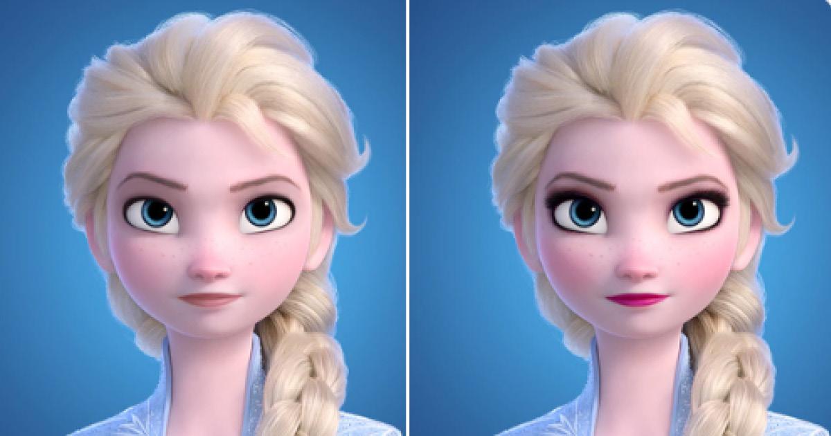 Фото Магия макияжа: как выглядит Эльза без него и почему всем это не нравится